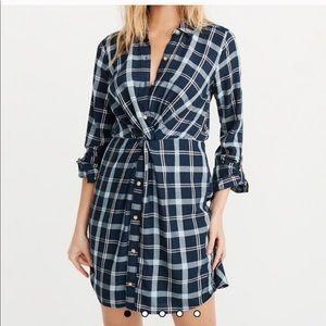 NWT S petite shirt dress